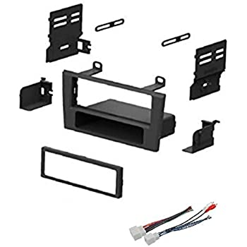 [DHAV_9290]  Amazon.com: Car Stereo Dash Install Mount Kit and Wire Harness for  Installing an Aftermarket Single Din Radio for 2002-2003 Ford Thunderbird  and 2000-2002 Lincoln LS: Car Electronics   2002 Thunderbird Wiring Harness      Amazon.com