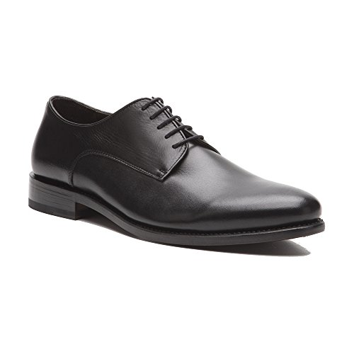 Prime Shoes Roma Rahmengenäht Schwarz Box Calf Black Schnürschuh aus feinstem Kalbsleder D 45 / UK 10 ½