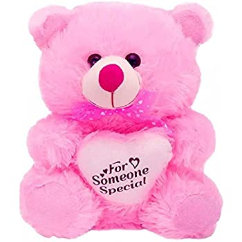 Kashish Gift Gallery - Pink Stuffed Valentine Teddy Bear for Girlfriend (30 cm )
