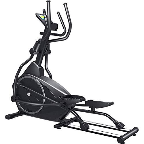 YXRPK Bicicleta Elíptica Profesional Ejercicio Maquina Fitness, Diseño De Rodamientos, Operación Multienlace, Sistema Autogenerador
