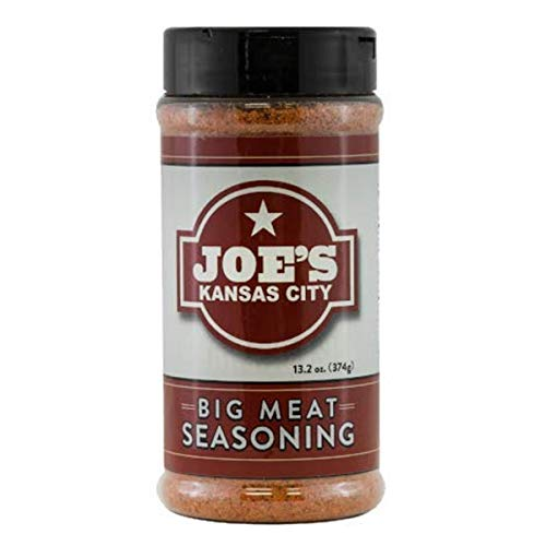 Joe's Kansas City Big Meat Seasoning - BBQ - LARGE (13.2 oz)