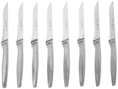 J.A. Henckels International Stainless Steel 8-Piece Steak Knife Set, 11.5 Inch