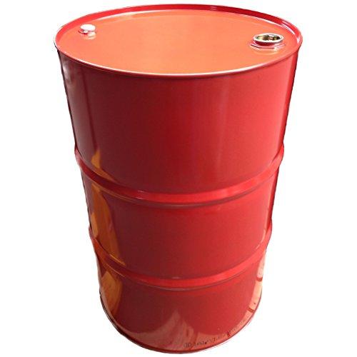 216 Liter Blechfass Stahlfass Fass Garagenfass Ölfass rot