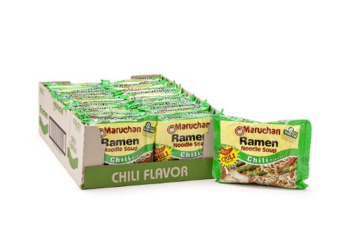 Maruchan Ramen, Chili, 3-Ounce Packages (Pack of 24)