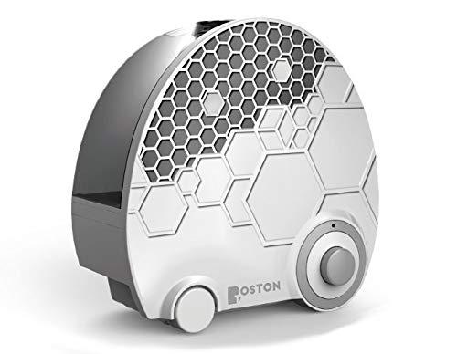 Boston Tech Humidificador WE-109. Tecnología ultrasónica, Vapor Frio, 4L, Caudal Regulable, bajo Consumo, silencioso