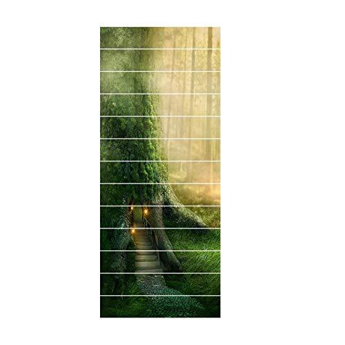 Etiqueta Engomada De La Baldosa De Cerámica Etiqueta Engomada Del Azulejo De La Pared Del Pvc Etiqueta Engomada Decorativa De La Escalera Impermeable Decoración Autoadhesiva Cocina Baño Diy DD-014