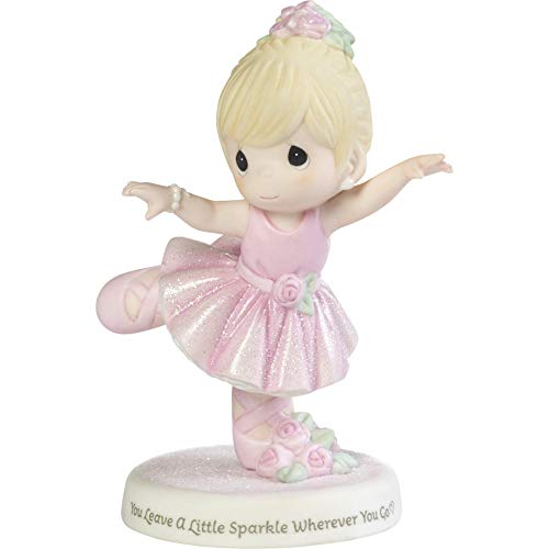 Precious Moments 192006 Porzellanfigur You Leave A Little Sparkle Where Ever You Go Ballerina Girl