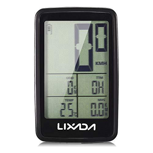 Roeam ciclocomputer,Contachilometri contagiri per Bicicletta Senza Fili USB Ricaricabile da Bicicletta
