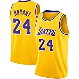 MTBD Jerseys para Hombres, NBA Kobe Bryant, Camiseta Retro No. 8 de Los Angeles Lakers, Camiseta Vintage de Baloncesto No. 24, Bordado Transpirable y ponible, Camisetas para Hombres y Hombres
