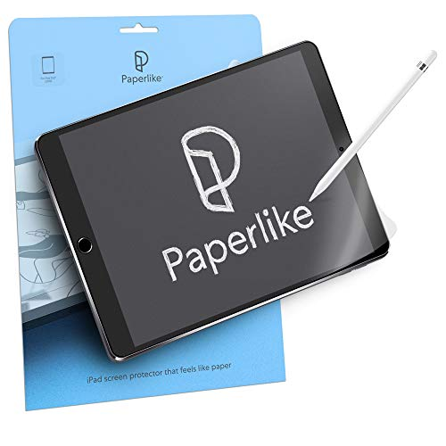 Paperlike mit Nanodots (2 Stück) für iPad 2019 10,2 Zoll Schutzfolie Matt Schreiben Zeichnen wie auf Papier