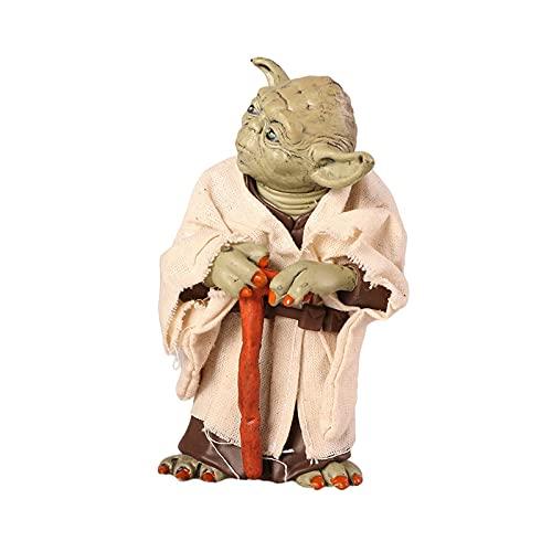 Figuras de Acción Star Wars Master Yoda Juguetes, 13cm Figuras Anime Estatua Modelos Coleccionables-Master Yoda