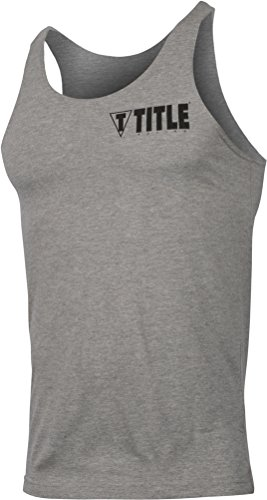 Title Boxing workout Tank top–grigio–xx