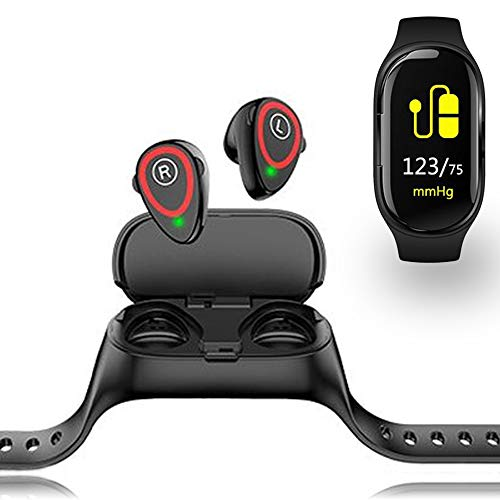 inDigi inDigi SmartWatch Bracelet Bluetooth for All iPhone Android Galaxy Phone Tablet