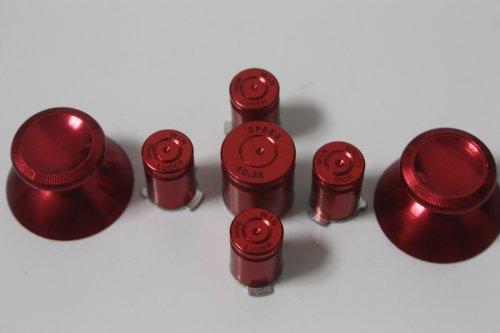 xbox 360 brass bullet buttons - 2