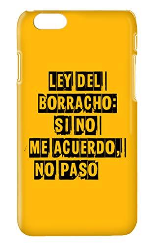 Funda Carcasa Frases Divertidas Alcohol Cerveza Borracho para iPhone 11 plástico rígido