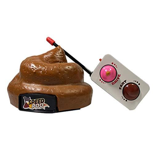 RC Auto Ferngesteuerte Poo Spiel Aktivität Scherzt Spielzeug Partei Geschenk Deko Poop mit Fernbedienung für Kinder Scherzartikel