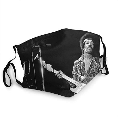 Écharpe pour le visage, Hip Hop Jimi Singer Logo Hend-Rix Soul 2020, anti-poussière, écharpe hygiénique douce et durable pour la pollution de la fumée 20 x 15 cm