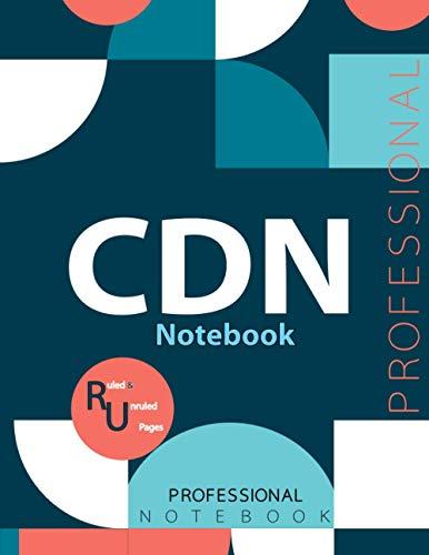 "CDN Notebook, Examination Preparation Notebook, Study writing notebook, Office writing notebook, 140 pages, 8.5"" x 11"", Glossy cover"