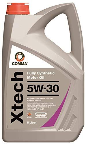Comma XTC5L XTech Fully Synthetic 5W30 Motor Oil, 5 Litre