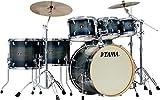 Tama Superstar Classic Maple 7-Piece Shell Kit, Includes 18'x22' Bass Drum, 7'x8', 8'x10' and 9'x12' Tom Tom, 12'x14' and 14'x16' Floor Tom, 6.5'x14' Snare Drum, Dark Indigo Burst