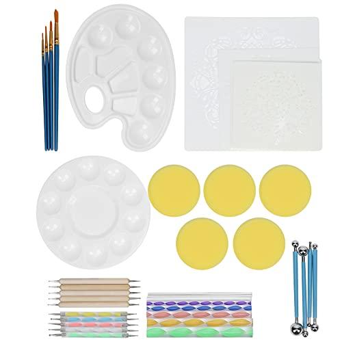 Pintura de puntos, Mandala de bricolaje ligero que puntea para muebles para niños