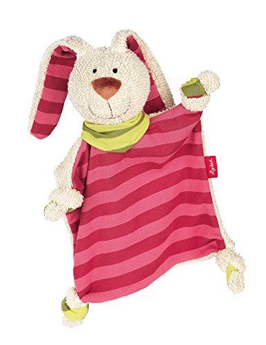 *sigikid, Mädchen, Schnuffeltuch Hase, Rosa/Pink, 40594*
