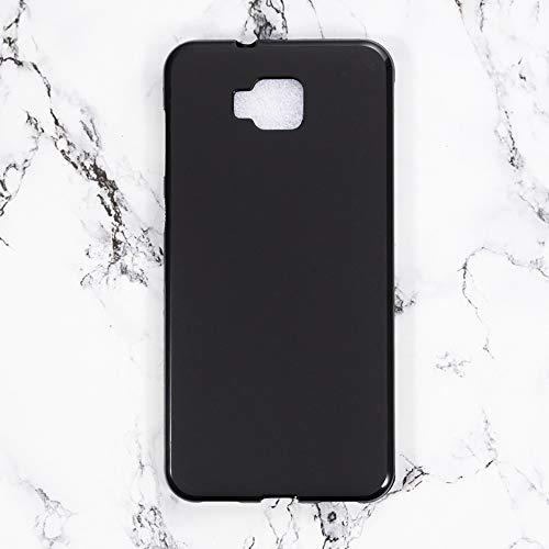 Capa para Asus ZenFone 4 Selfie ZD553KL, resistente a arranhões, capa traseira de TPU macia à prova de choque, capa protetora de corpo inteiro de silicone para Asus ZenFone 4 Selfie ZD553KL (preta)