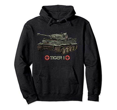 Tanque alemán de la Segunda Guerra Mundial Tiger I (1) Sudadera con...