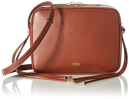 BOSS Lily Crossbody, Bolso Cruzado para Mujer, Rust/Copper224, Einheitsgröße