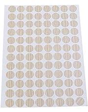 VOSAREA Las Perforaciones Impermeables del Agujero del Tornillo Cubren Las Etiquetas engomadas Decorativas no deslizantes 15mm 96pcs / Sheet