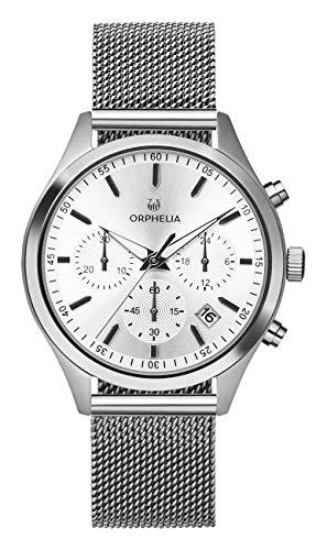 Orphelia Damen Chronograph Quarz Uhr mit Edelstahl Armband OR32800