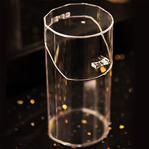 Make-up Organizer penseel Home Desktop Clear Wenkbrauw Potlood Transparant Acryl Parel Aanrechtblad Doos Case Cosmetische Opslag Lisptick Manicure Container(A)