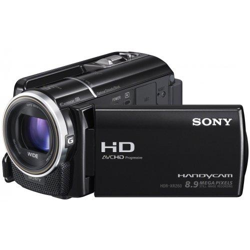 Sony HDR-XR260VE Full-HD Camcorder 160GB (7,5 cm (3 Zoll) LCD-Display, 30x opt. Zoom, 8 Megapixel, 29mm Weitwinkel, bildstabilisiert)
