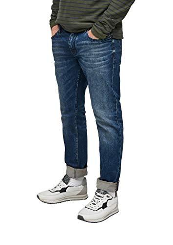 s.Oliver Herren Regular Fit: Slim Leg-Jeans medium Blue 34.34