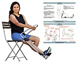 IdealKnee: The Most Effective and Easy to Use Treatment for Knee Extension | for Athletes + Physical Therapy + Rehab + Ortho | Comes with ONE Comfort pad for The