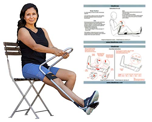 IdealKnee: The Most Effective and Easy to Use Treatment for Knee Extension | for Athletes + Physical Therapy + Rehab + Ortho | Comes with ONE Extra Comfort pad for The