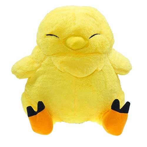 Maria-UK Chocobo-Vogel-Puppe, Plüschpuppe, Spielzeug (Farbe: gelb)