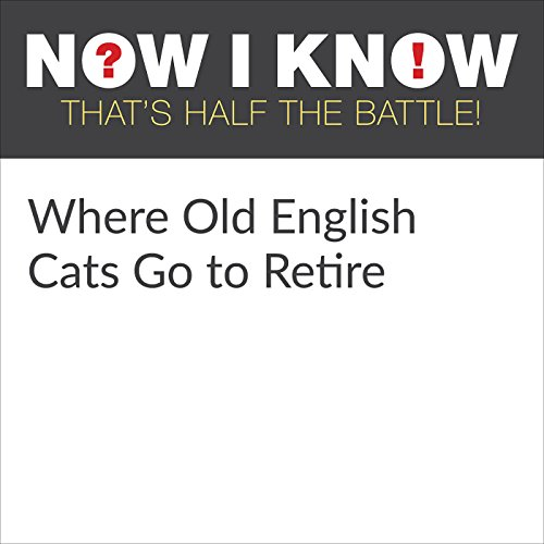 Where Old English Cats Go to Retire audiobook cover art