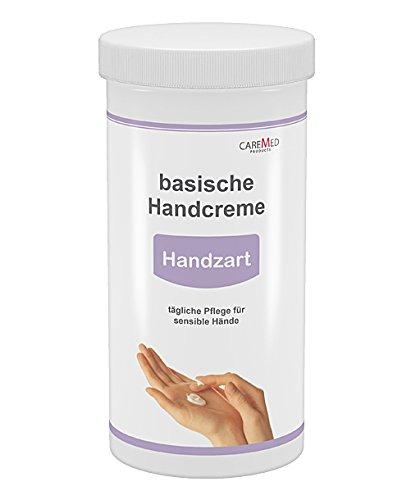 CareMed Handzart, basische Handcreme, Handpflegecreme für sensible Hände, 450ml mit Spender