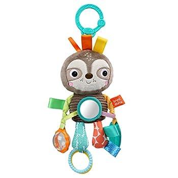 Bright Starts Playful Pals Take-Along Activity Toy Sloth Newborn +