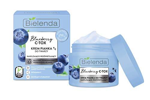 Bielenda BLUEBERRY C-TOX Moisturizing & Illuminating Face Cream Foam day/night 40 g