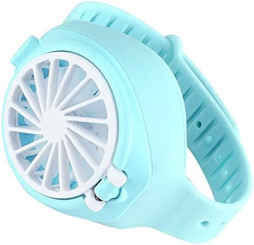 PXD913 Mini Ventilador de muñeca para niños Reloj Fan, Ventilador Personal Mini...