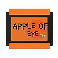 ロマンチックオレンジ デスクトップフォトフレーム画像ブラックは、芸術絵画7 x 9インチ