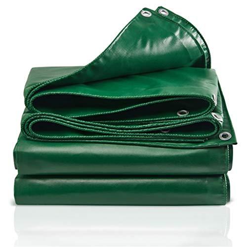 TRNCEE Verdikte (Circa 0,4 mm) waterdicht, Tarpaulin Floor Covering Camping, Tuin, UV-bescherming buitenshuis Tarpaulin PVC Rain Cloth 4x3m (13ft x 10ft)