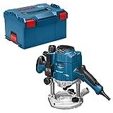 Bosch GOF 1250LCE Défonceuse Professional Noir/Bleu