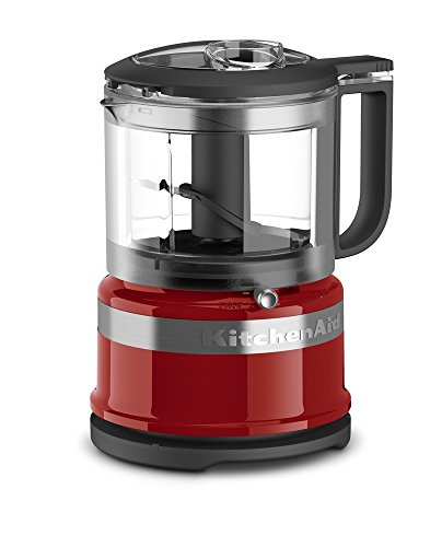 KitchenAid KFC3516ER, Picador de alimentos, 3,5 tazas, Empire Red, Una talla