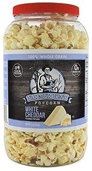 Farmer Jon s White Cheddar Cheese Popcorn 11oz of Gourmet Popped Popcorn