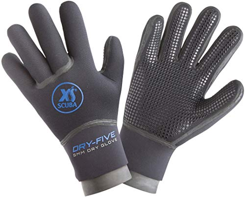 XS Scuba Dry Five Gloves (Small)