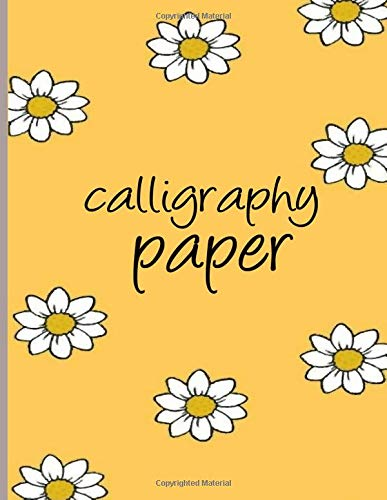 Calligraphy Paper: calligraphy books for beginners worksheets