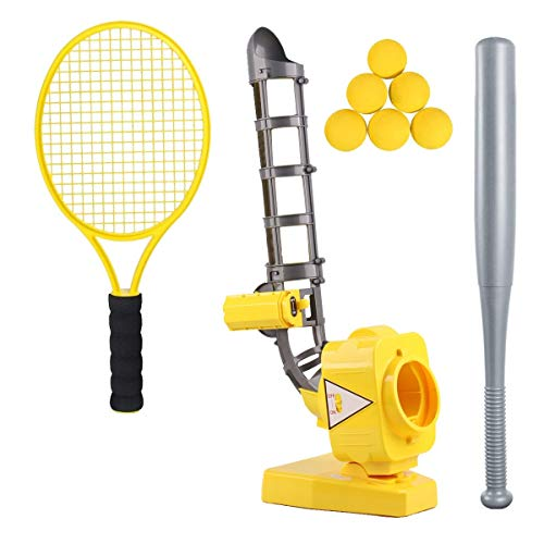 Baseball Tennis Pitching Gaming Machine Toys, Training Sports ,Gym,Early Development Toys Outdoors Sports Gaming for Kids and Toddlers.